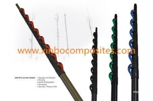 China Carbon Fiber Antenna Masts on sale