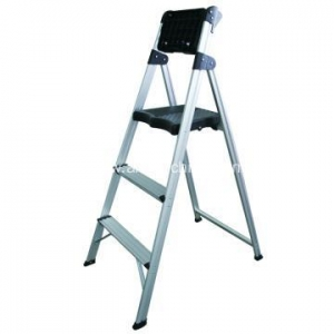 China Handrail Step Ladder with Tool Tray on sale