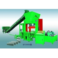 QT3000 Curb & Pavers hydraulic machine