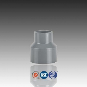 China PVC Reducing Coupling,Plastic Pipe Reducer Fitting on sale