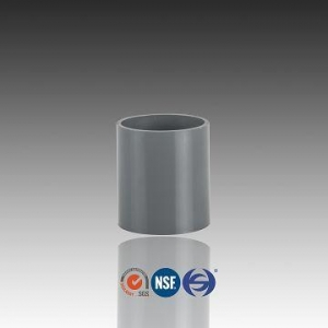 China PVC Pipe Coupling With 2 Inch Dimensions,Plastic Couplers Fittings on sale
