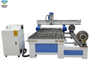 China QD-1325R40L CNC Router with Rotary on sale