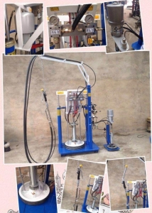 China IG Two Component Sealant Spreading Machine on sale