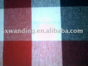 China 100% Cotton Check fabric on sale