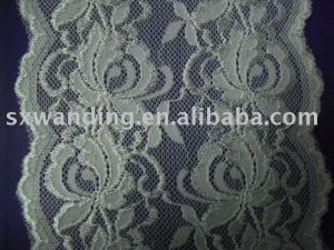 China 100% nylon lace fabric on sale