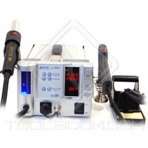 China Lead-Free Hot Air Soldering Station AOYUE 2702A+ with Soldering Gun (220 V) on sale