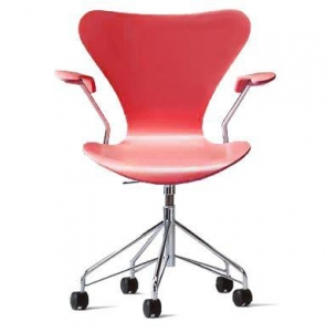 China Arne Jacobsen-series 7 swivel arm chair - color on sale
