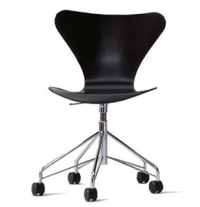 China Arne Jacobsen-series 7 swivel side chair - color on sale