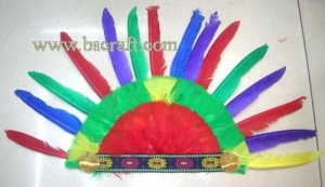 China bsm173 feather mask/halloween mask/decorative mask with handle/holiday mask/masquerade mask on sale