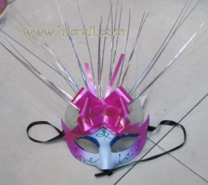 China bsm212 feather mask/halloween mask/decorative mask with handle/holiday mask/masquerade mask on sale