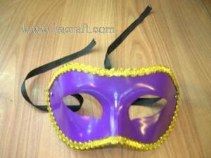 China bsm124b unadorned mask/decorative mask/holiday mask/masquerade mask on sale