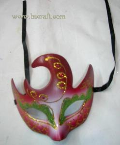 China bsm99d unadorned mask/decorative mask/holiday mask/masquerade mask on sale
