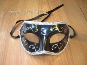 China bsm124a unadorned mask/decorative mask/holiday mask/masquerade mask on sale