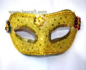 China bsm123 unadorned mask/decorative mask/holiday mask/masquerade mask on sale