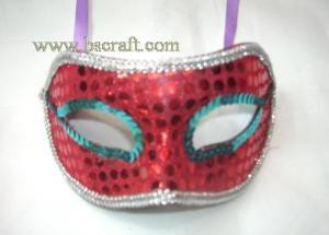 China bsm122 unadorned mask/decorative mask/holiday mask/masquerade mask on sale