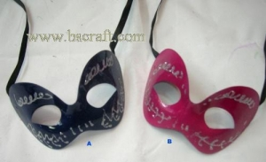 China bsm115 unadorned mask/decorative mask/holiday mask/masquerade mask on sale