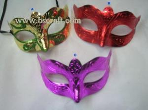 China bsm116 unadorned mask/decorative mask/holiday mask/masquerade mask on sale
