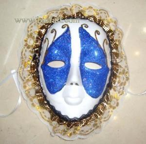China bsm92 halloween mask/decorative mask with handle/holiday mask/masquerade mask on sale