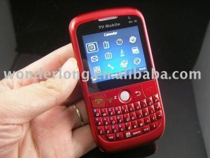 China E82 EC Unlocked Quad Band Dual SIM Card TV Bar phone with Qwerty Keyboard on sale