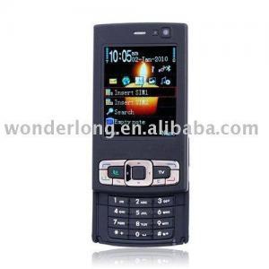 China TV95 Unlocked Quad Band Dual SIM Card Sliding TV mobile phone on sale