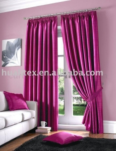 China Blackout blinds and curtains fabric on sale