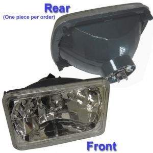 China H4656 6 by 4 Rectangle Headlamp H4 Conversion on sale