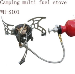 China WH-S101 camping multi fuel stove on sale