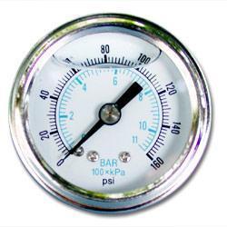 China Filled liquid Pressure gauge on sale