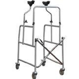 China Wheeled Steel Walker with Underarm Supports on sale