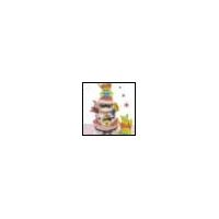 Disney Precious Winnie The Pooh 3 Tier Diaper Cake, Baby Girl Shower Centerpiece
