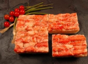 China King Crab Meat 4 x 500 g on sale