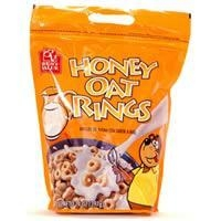 China Best Value Honey Oat Rings Bag w/Zipper on sale
