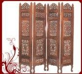 China Rosewood Screen-Carved Design on sale