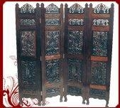 China Rosewood screen-fully carved on sale