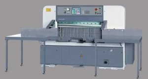 China QZYW-E+D 78/92/115/130/137/155/166/186 Computerized Paper Cutting Machine with Large Screen on sale