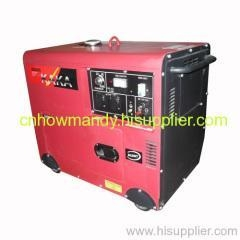 China 5kw silent single-phase diesel generator set on sale