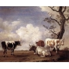 China Oil Painting fourbull for sale
