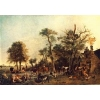 China Oil Painting the_farm for sale