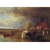 China Oil Painting Approaching_Storm for sale