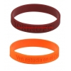 China custom silicone bracelets for sale