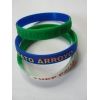 China rubber bracelets for sale