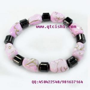 China magnetic hematite bracelet on sale