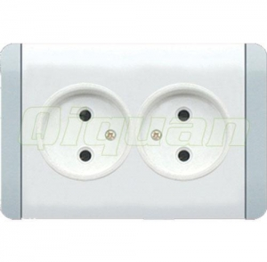 China Double French Style Socket on sale