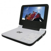 """Portable DVD Player with 7"""" TFT screen, MPEG-4"""