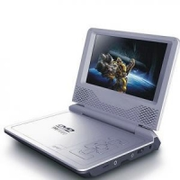 """Portable DVD Player with 7"""" TFT screen, USB port, MPEG-4"""
