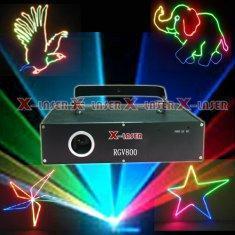 China RGV800 RGV full color animation laser stage eqipment on sale