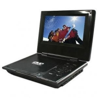 "7"" Portable DVD Player with USB/SD slot and MPEG-4"