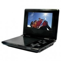 """7"""" Portable DVD Player with USB/SD slot and MPEG-4"""