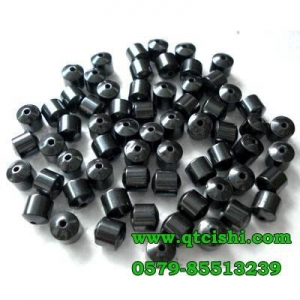 China Magnetic hematite beads on sale