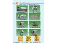 China Fresh Potato Chips Processing Line on sale